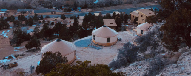 3 tan shelter designs yurts in zion national park